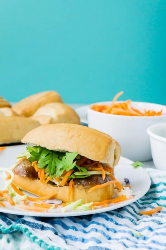 An easy banh mi recipe