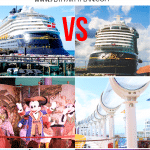 Trying to decide which Disney Cruise ship is right for your family? This guide breaks down the Disney Dream vs Disney Wonder and helps you decide which one will be best for you!