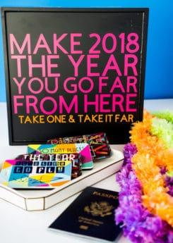 Simple New Year's Eve favor ideas
