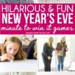 The best New Years Eve games all played in awesome minute to win it style