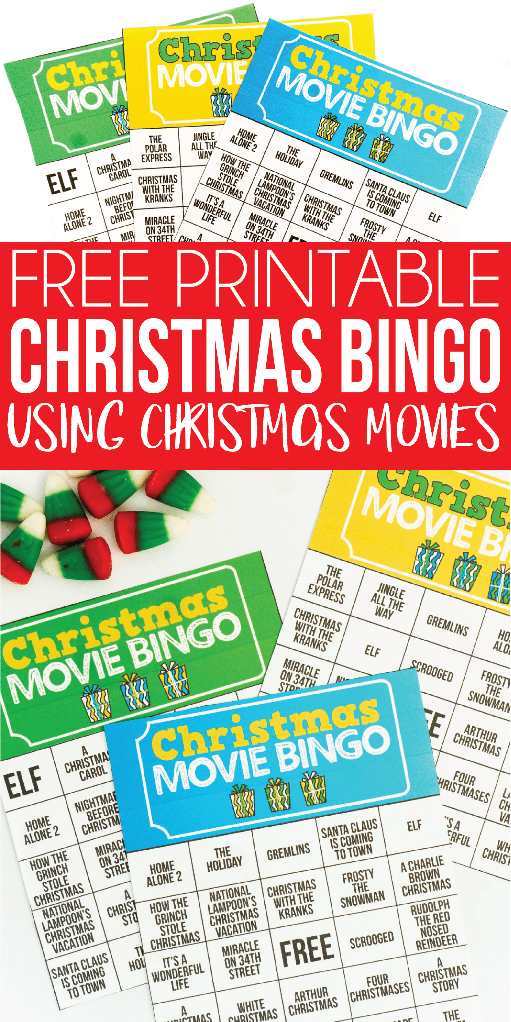 this fun printable christmas bingo game is perfect for large groups like for 20 people