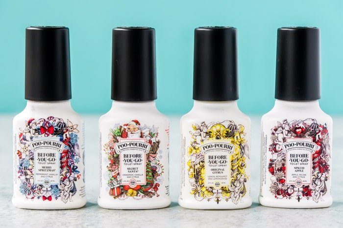 Poo-Pourri sells holiday gift sets with holiday scents