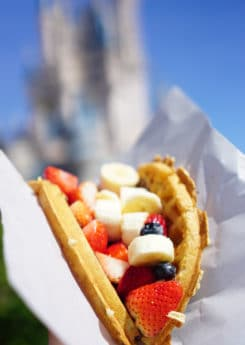 Nutella waffle is an iconic Disney World food