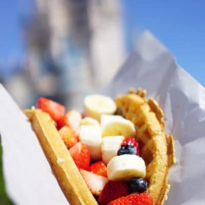 The Best Food at Disney World + Printable Disney Snacks List