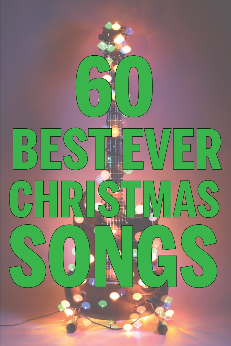 Best Christmas songs ever! Perfect for creating your Christmas party playlist!
