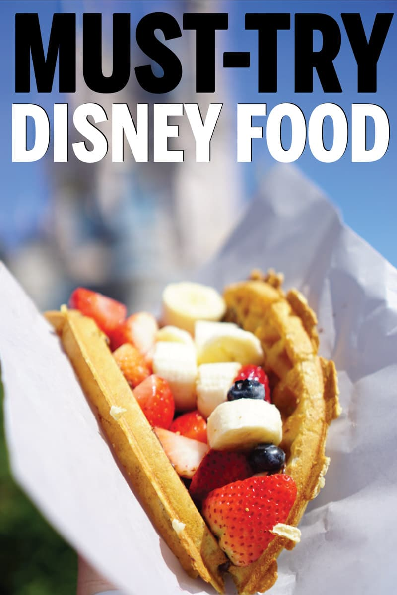 graphic about You Re Going to Disney World Printable identified as Most straightforward Disney Earth Foods Printable Disney Treats Listing - Enjoy