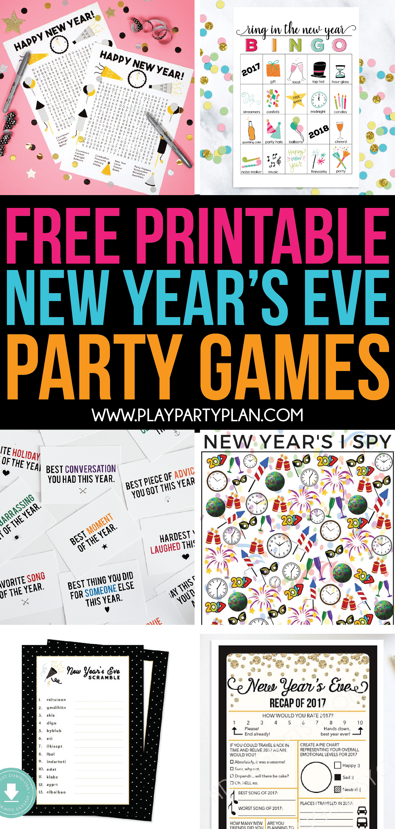 active new years eve games