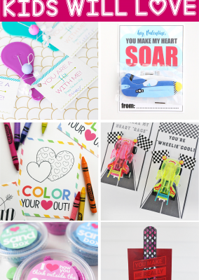 20 of the most fun Valentines cards for kids! Tons of cute printable and DIY ideas that would be perfect for kids in preschool or grade school, party favors, or just giving to your kids for Valentine's Day!
