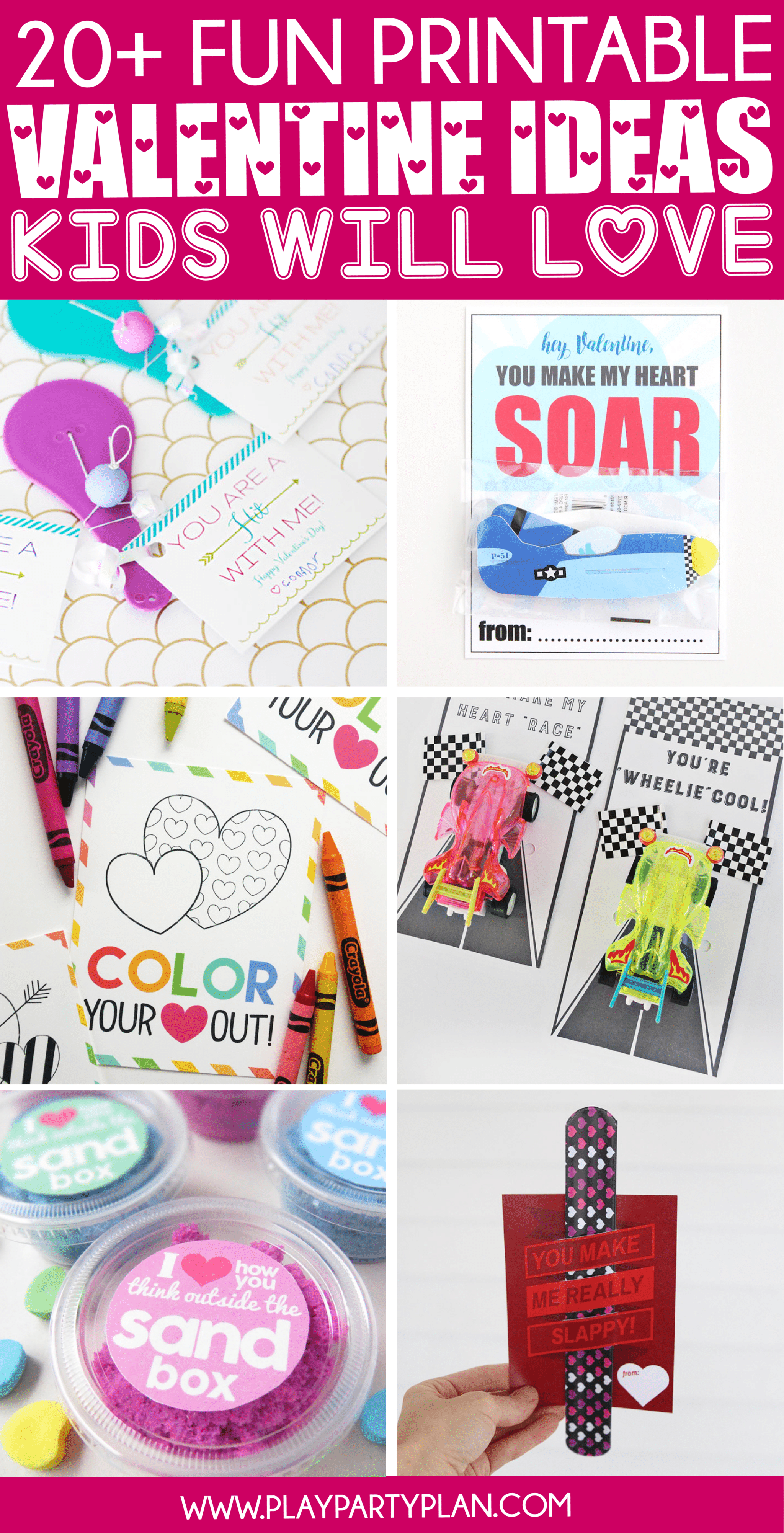 20 Fun Valentine S Day Cards For Kids Play Party Plan