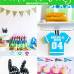 The best game day party ideas including free printable Super Bowl party printables for this year's big game!