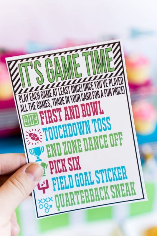 Fun Super Bowl party ideas for kids