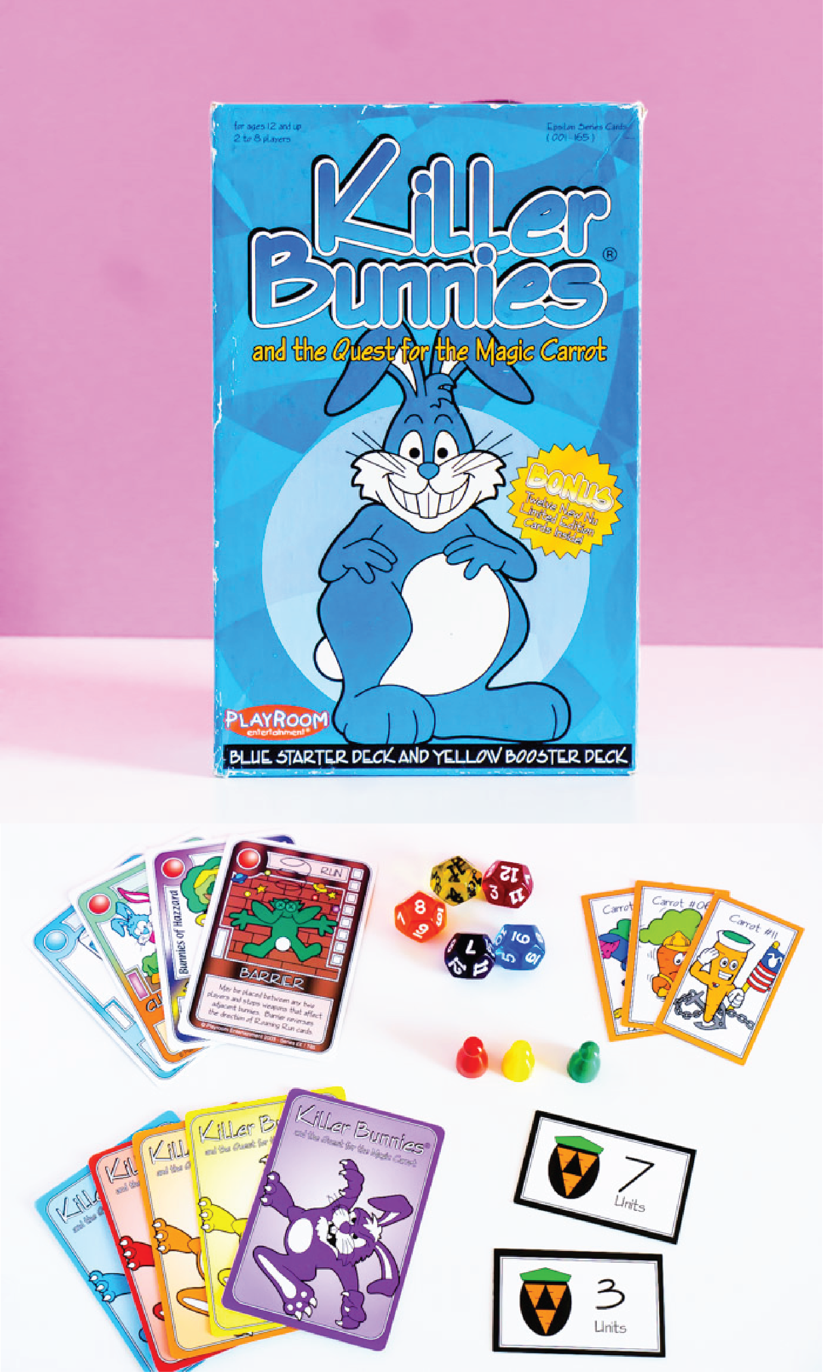 Killer Bunnies is one of the most fun card games for adults