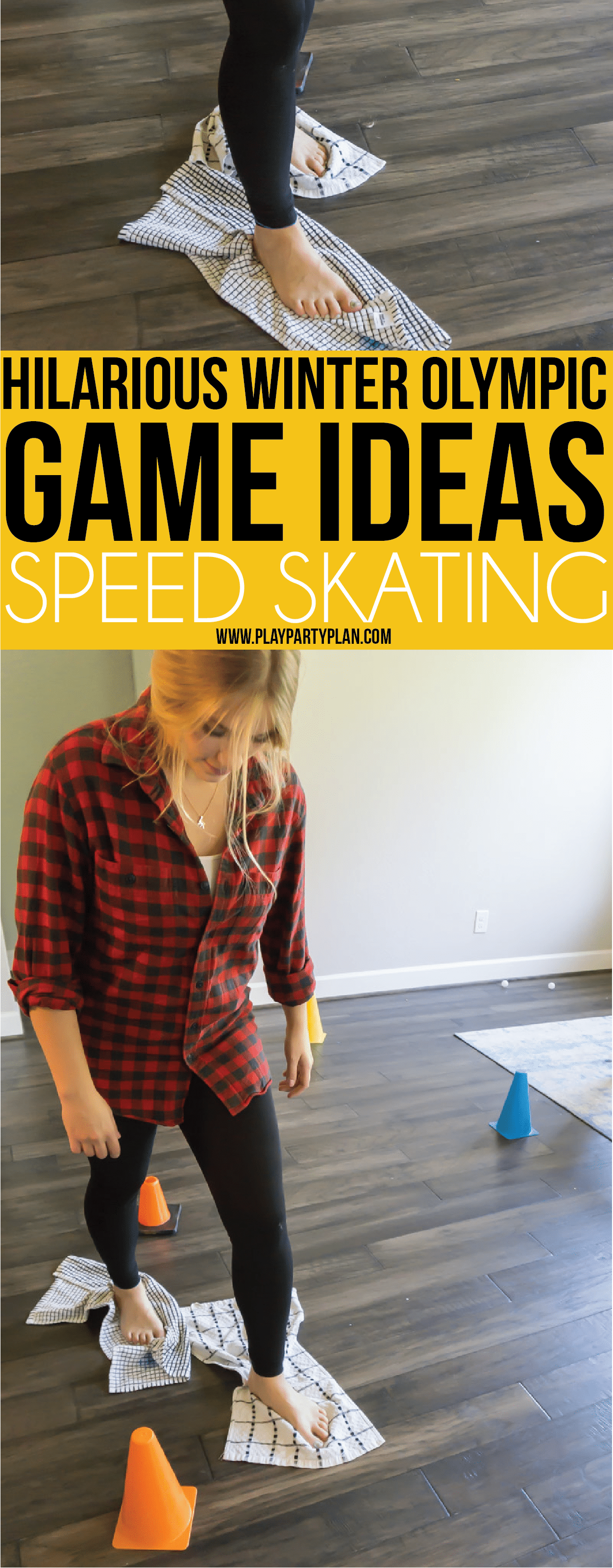 Fun Winter Olympic themed party games