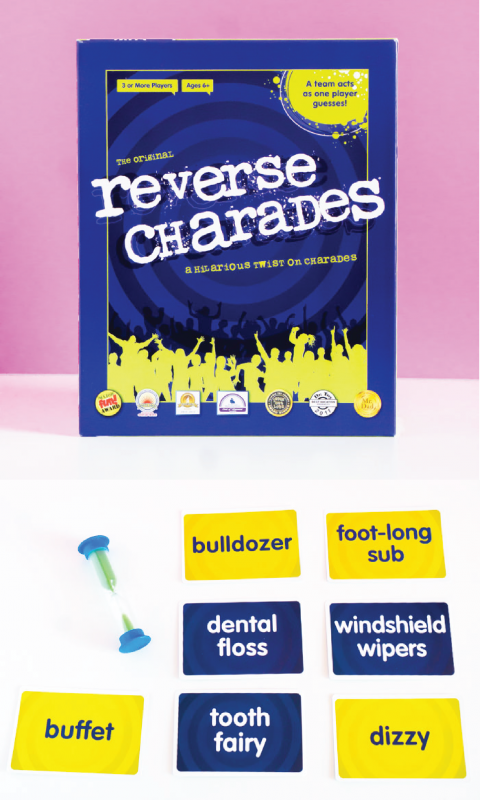 Reverse charades is one of the best adult board games