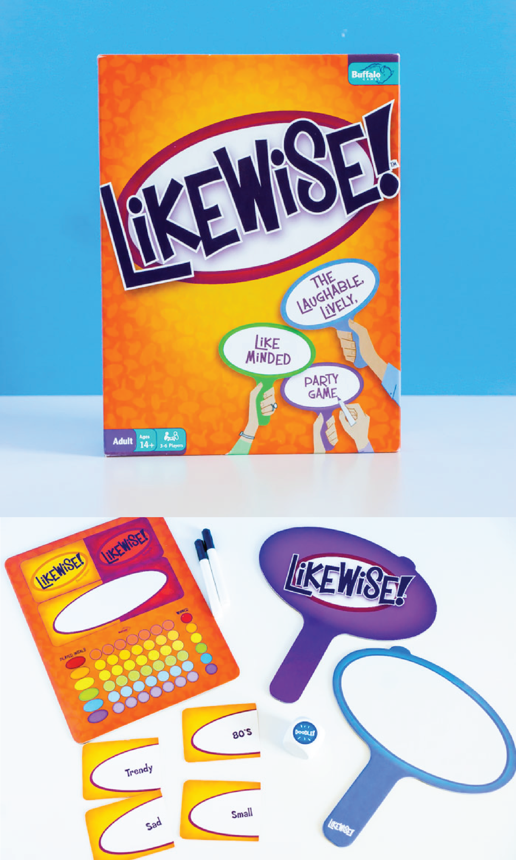 Likewise will become one of your favorite adult board games