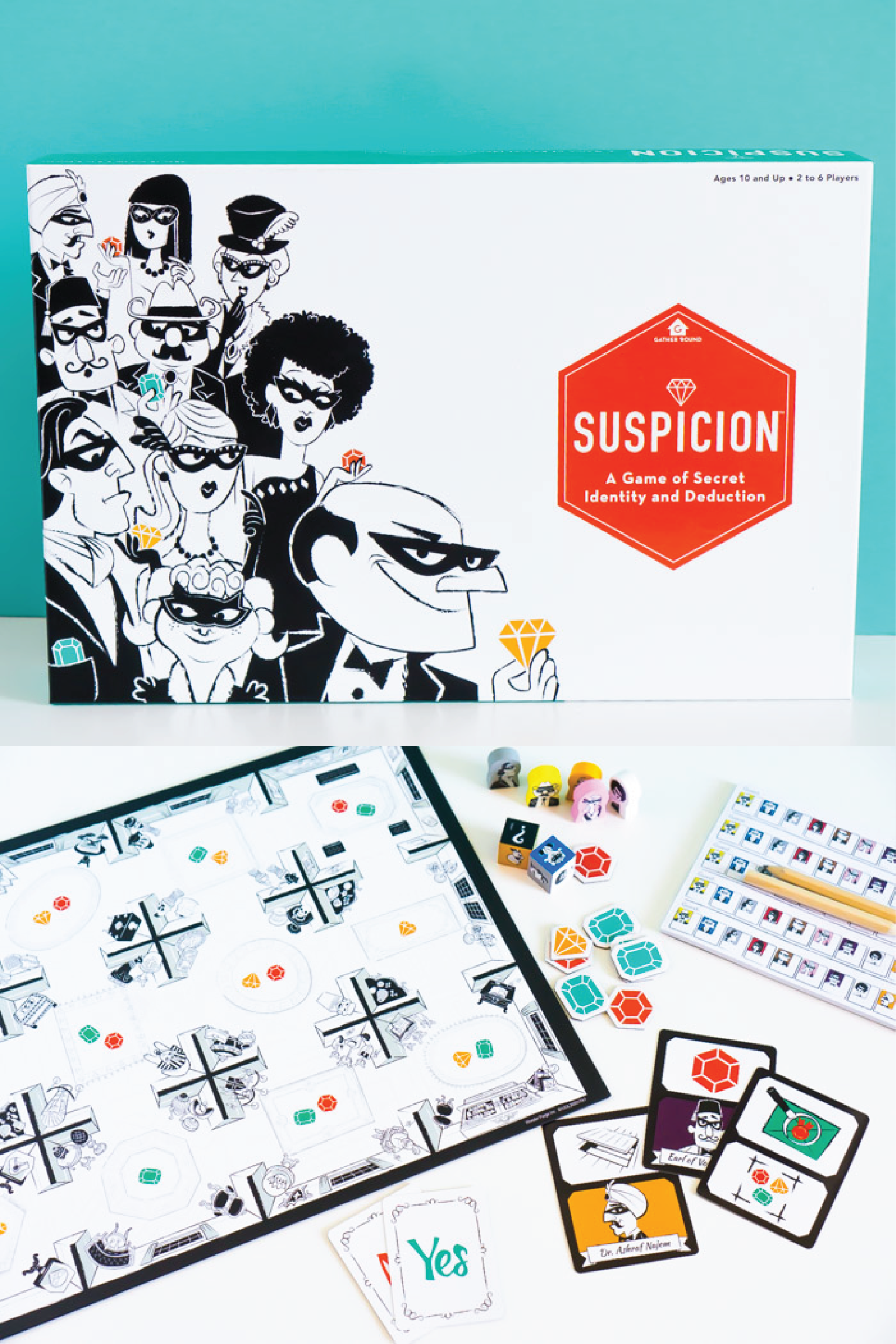 Suspicion is one of the newer adult board games