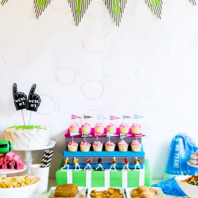 Easy Game Day Party Ideas and Free Game Day Printables
