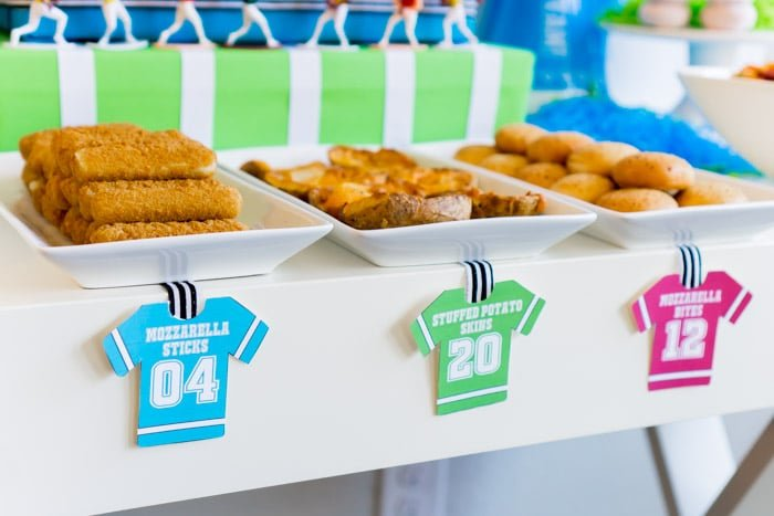 Farm Rich Mozzarella sticks make great game day party snacks