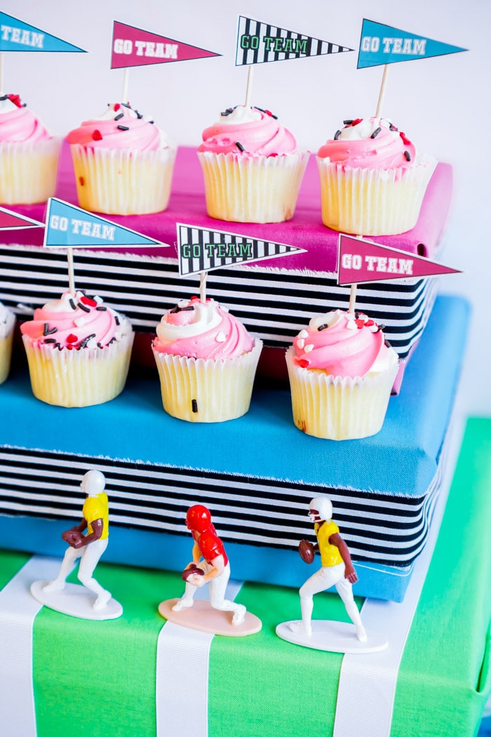 Free football party printables