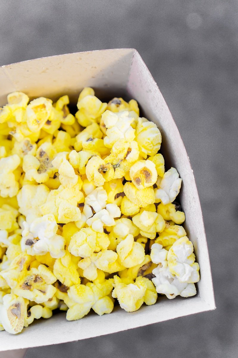 Flavored popcorn makes the top of the Disneyland food list