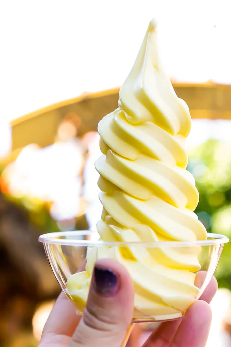 Dole Whip is a must for Disneyland food lovers