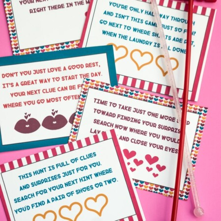 A simple Valentine's Day hunt for kids