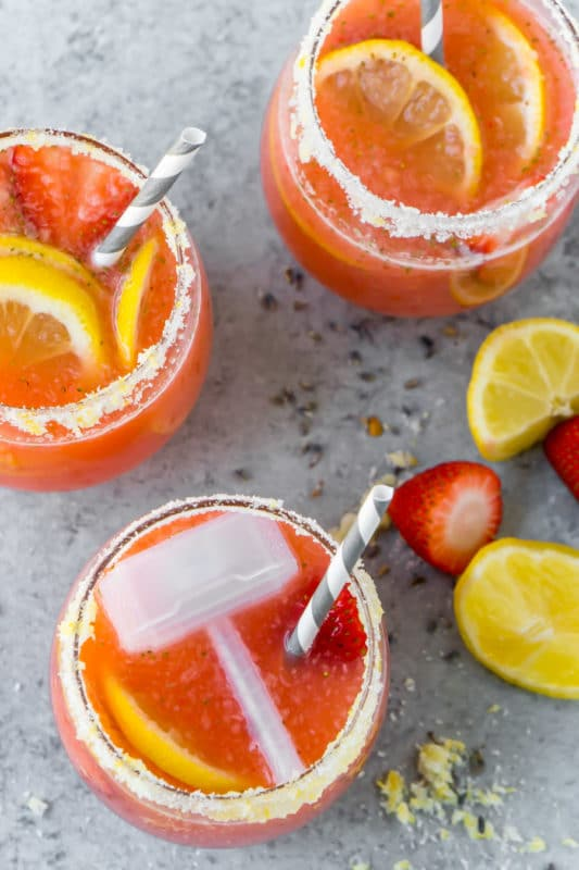 A homemade strawberry lemonade recipe inspired by Thor