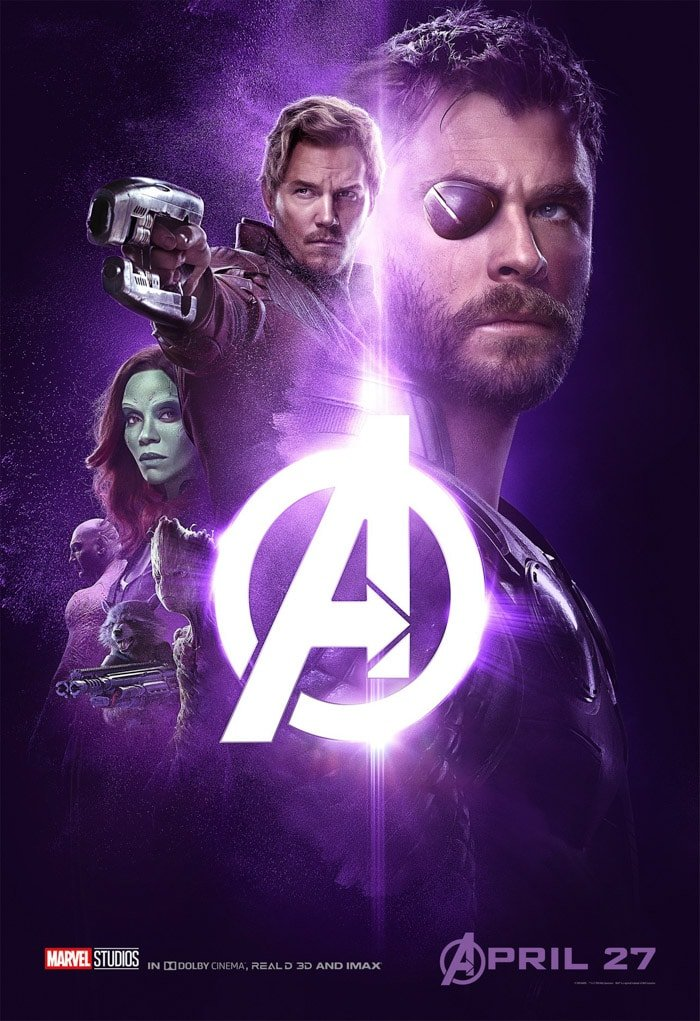 which avengers infinity war poster is the best? five brand new posters!