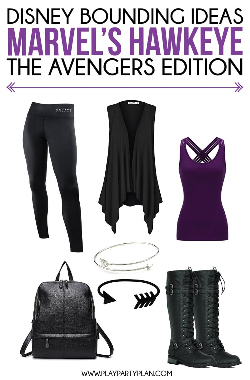 Disney bounding outfit ideas for Marvel's Hawkeye