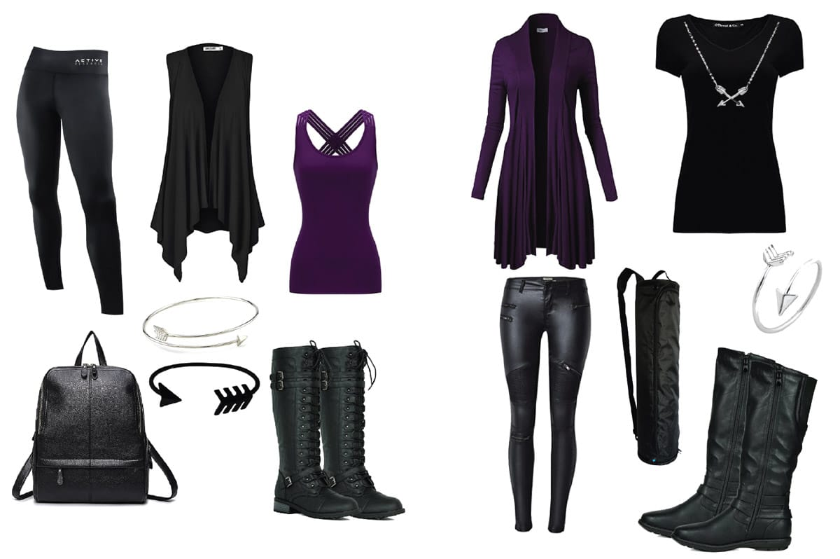 Great Disney Bounding Outfit ideas to dress like Hawkeye