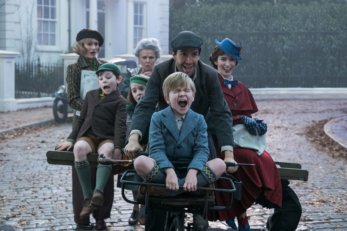 Lin-Manuel Miranda stars in Mary Poppins Returns