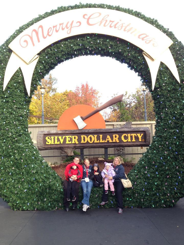 A road trip to Coaster Christmas at Silver Dollar CIty