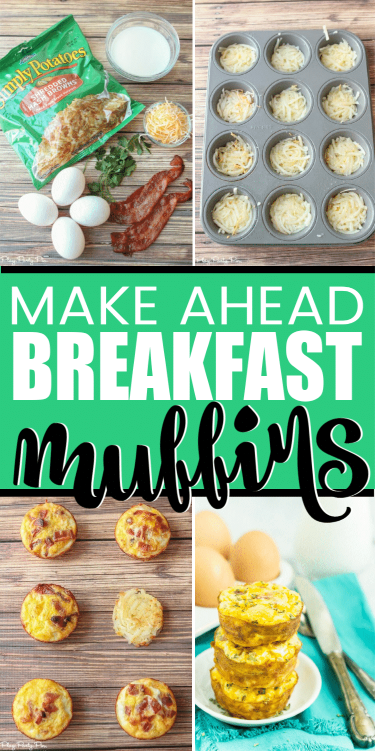 The best egg and hashbrowns breakfast muffins! Perfect for kids or adults and so easy to make