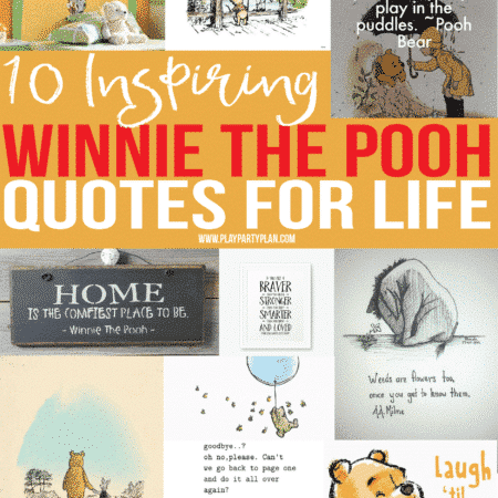 The best Winnie the Pooh quotes about love, friendship, and adventure and more!