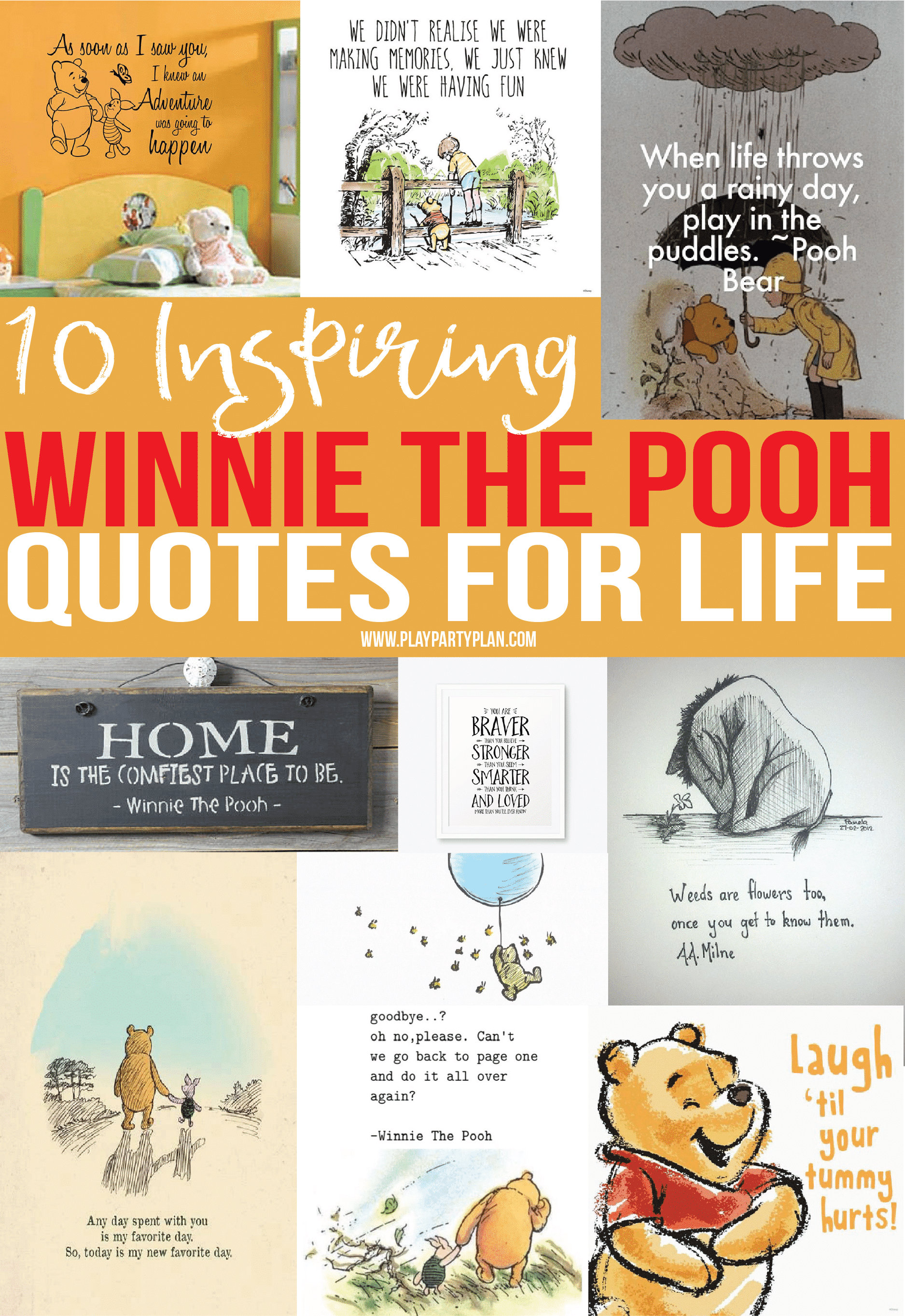 24ef5bc1d The best Winnie the Pooh quotes about love, friendship, and adventure and  more!