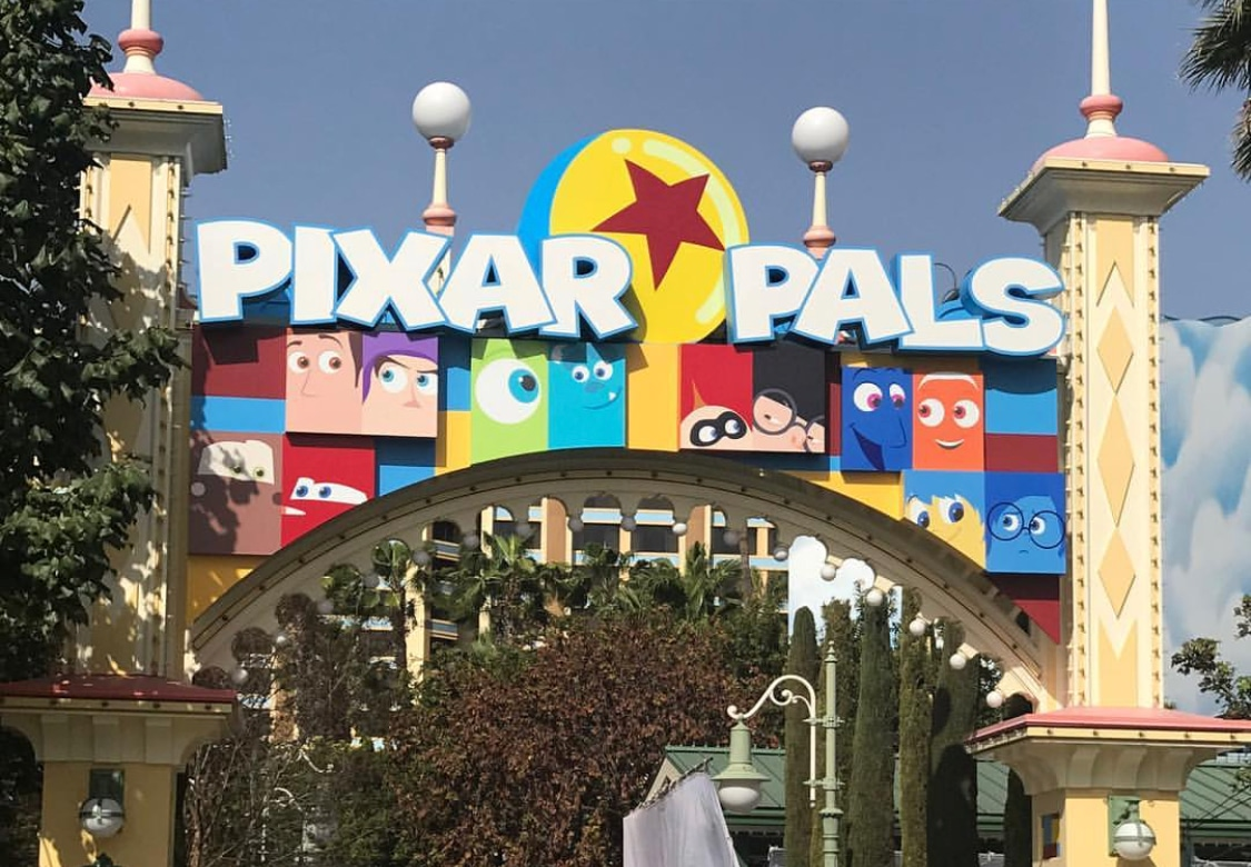 Pixar Pals section of Pixar Fest at Disneyland