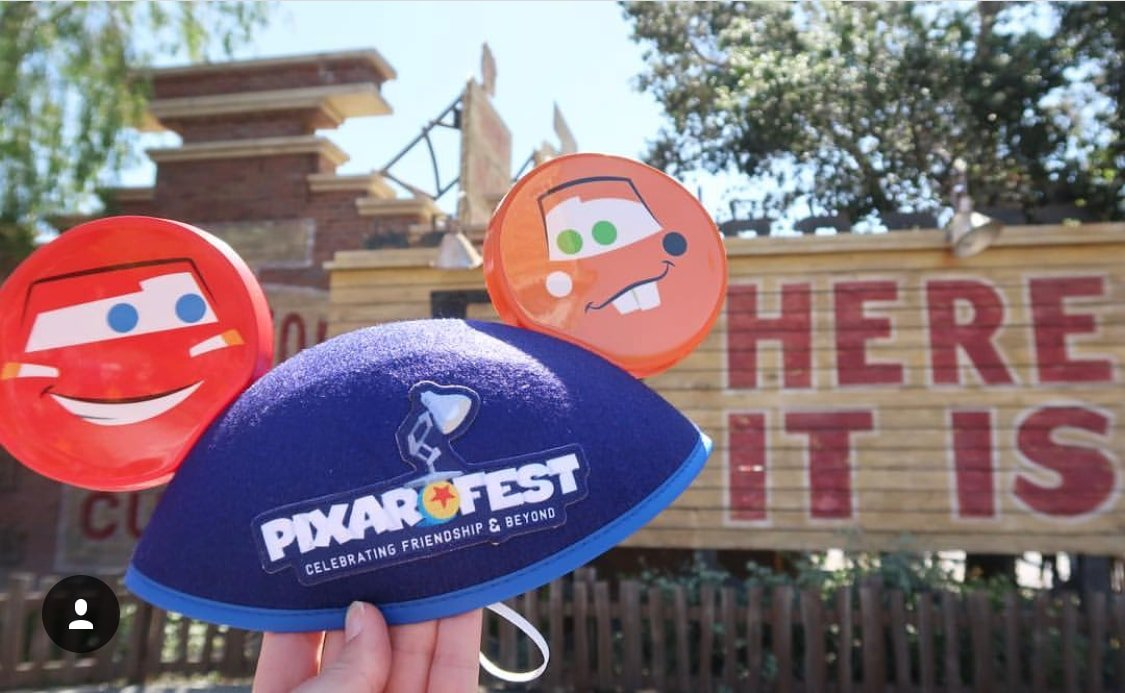 Pixar ears at Disneyland's Pixar Fest