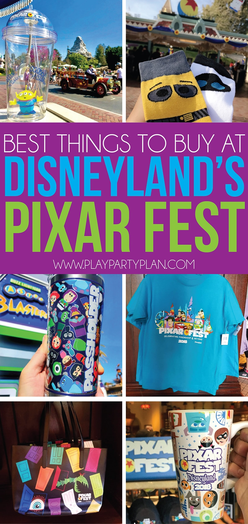 The best things to buy at Disneyland's Pixar Fest! And a great guide to what to eat and do too!