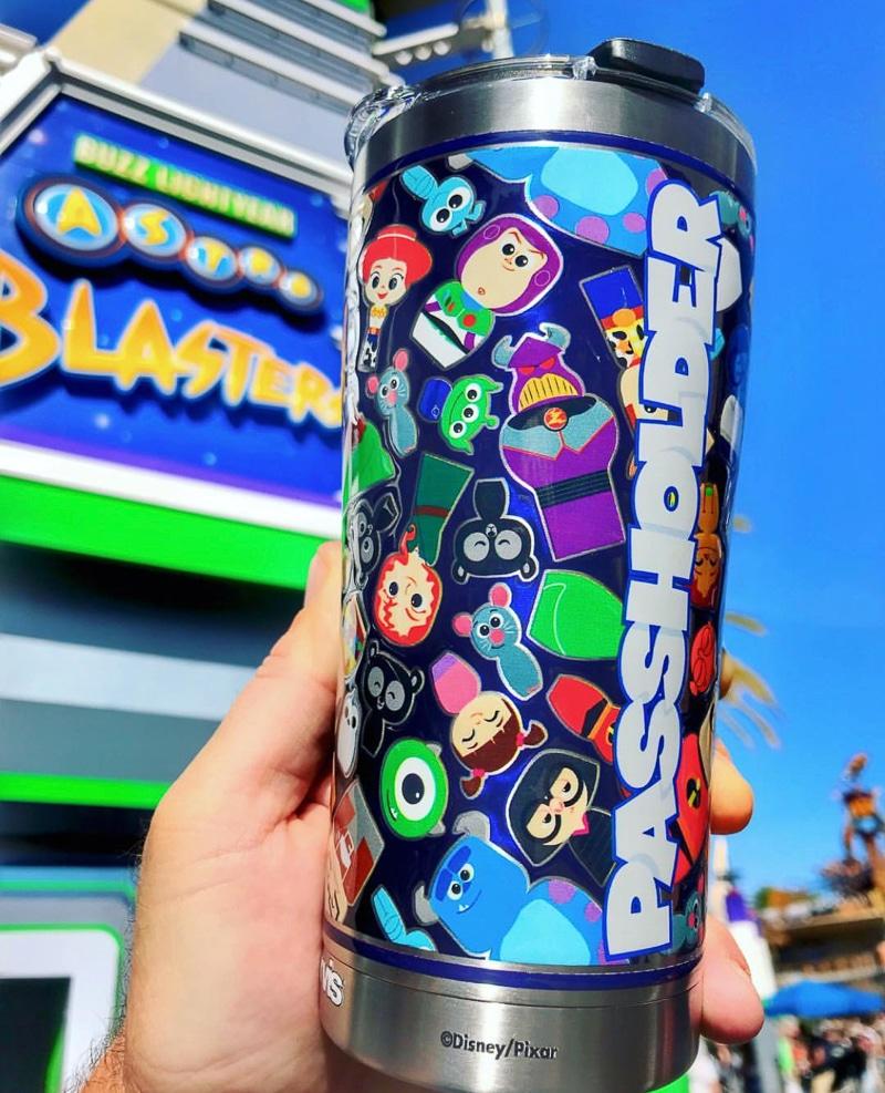 Pixar annual passholder mug at Disneyland's Pixar Fest