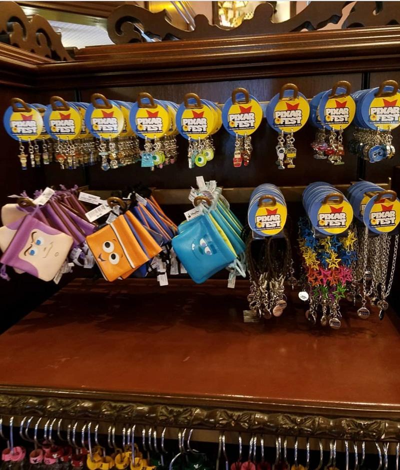 Pixar charm bracelets at Pixar Fest