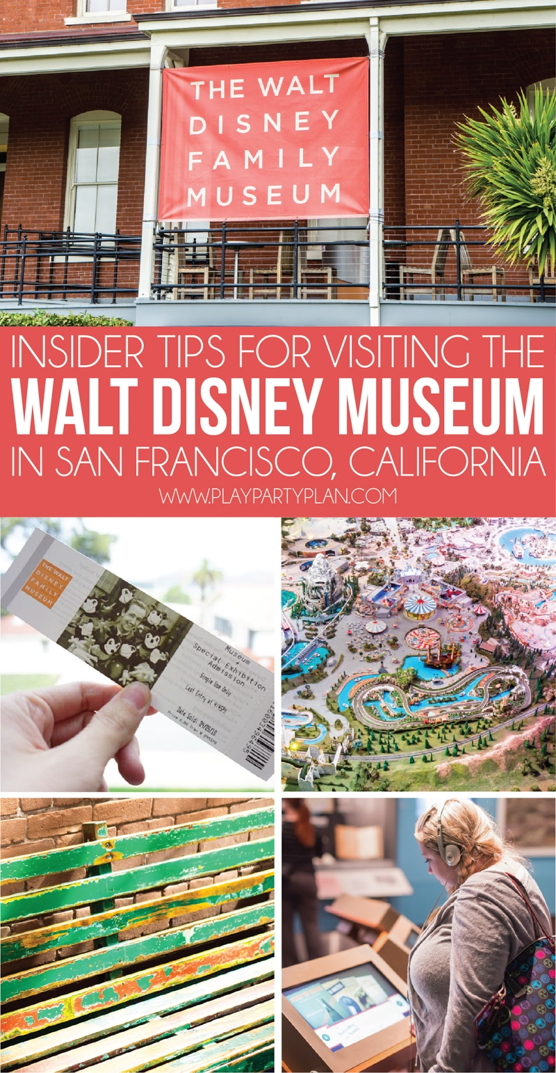 Reasons why every Disney fans need the Walt Disney Family Museum in San Francisco on their bucket list! Everything from a miniature Disneyland model to activities for families and even the original drawing of Mickey Mouse and awesome Snow White paper dolls! There's so much for everyone whether you're a Disney World or Disneyland fan!