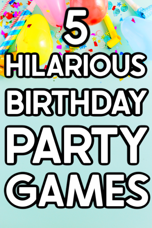 Everyone will love these hilarious birthday party games no matter what age they are! They work as birthday games for kids and birthday games for adults with a few little twists. All you need for these fun kids birthday party games is some candy, ice cream cones, balloons, and players who are enthusiastic and ready to play!