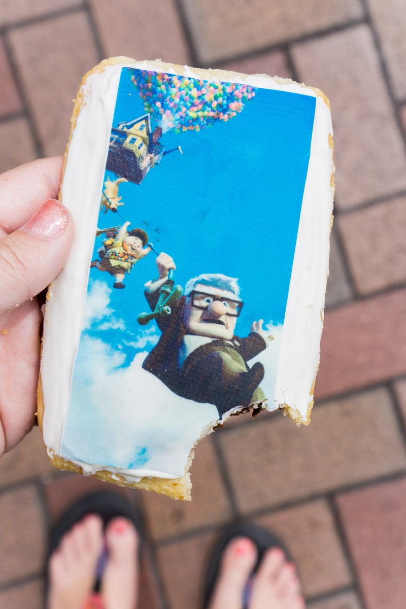 An Up hazelnut tart makes the top of the Pixar fest food list