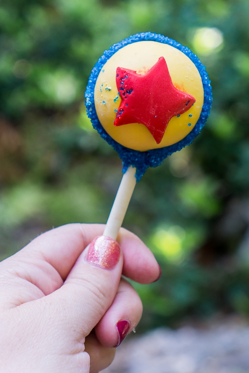Luxo Ball cake pop at Pixar Fest