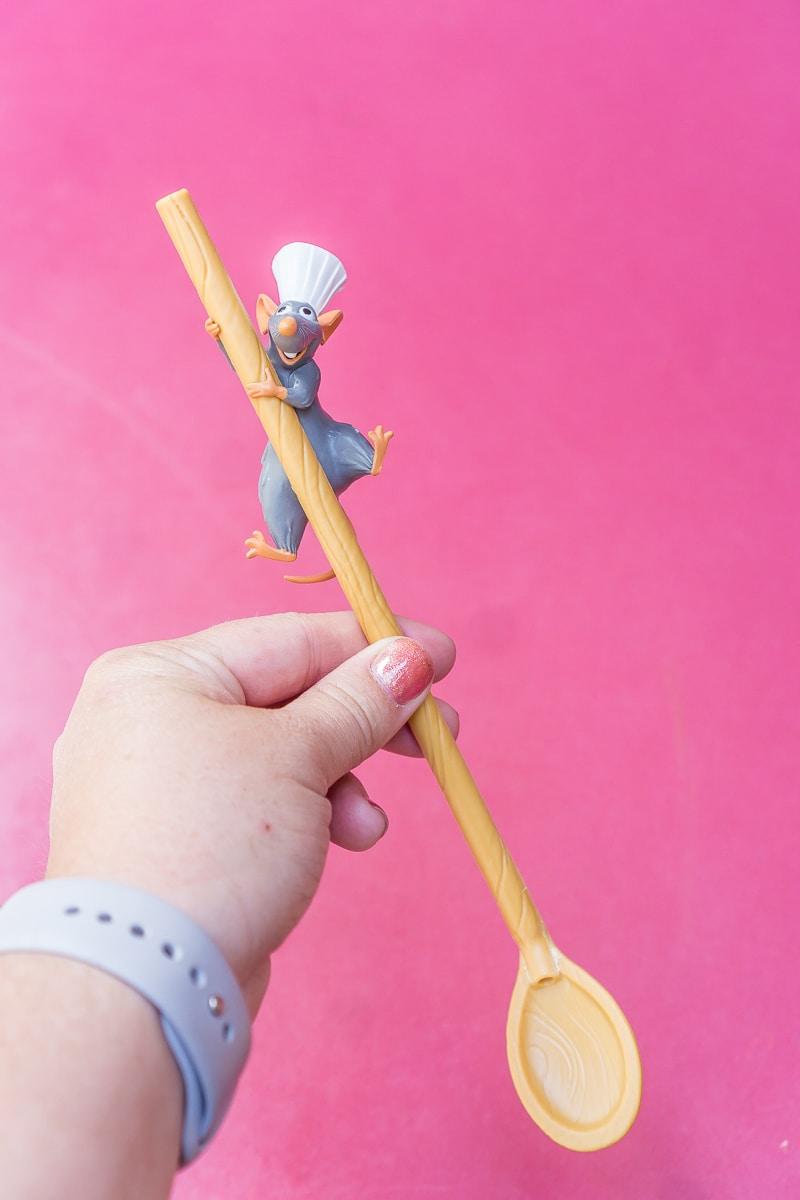 Ratatouille straw available during Pixar Fest