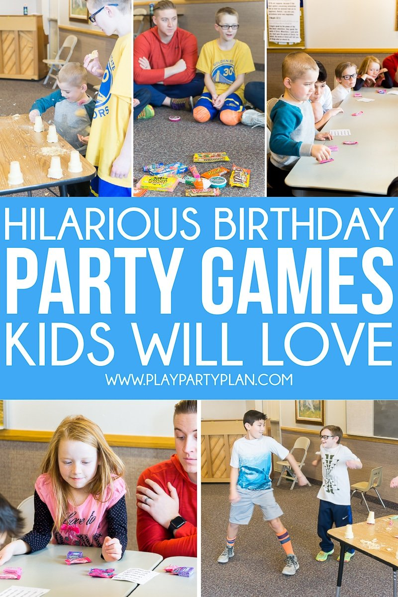 Fun Birthday Party Games For Kids Teens And Even Adults You