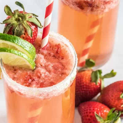 Citrus Strawberry Mocktail Recipe