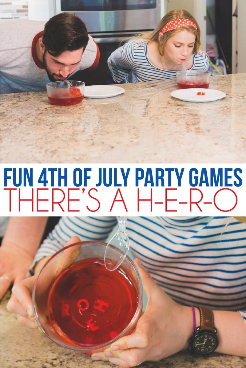 4th of July games with jello