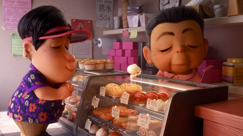 A picture of the inspiration for the Bao Pixar short
