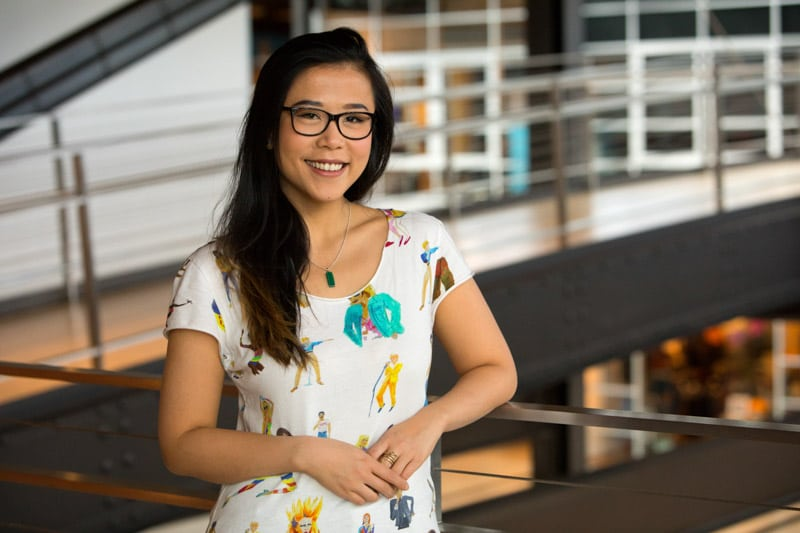Bao Pixar short film creator Domee Shi